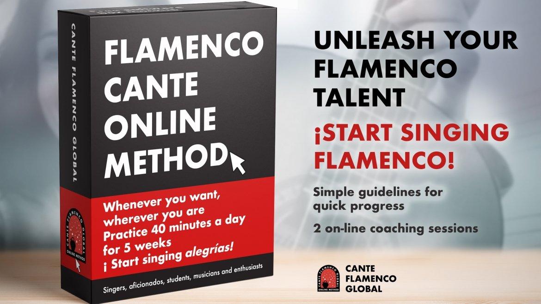 Cante Flamenco Global Method. Alegrias.