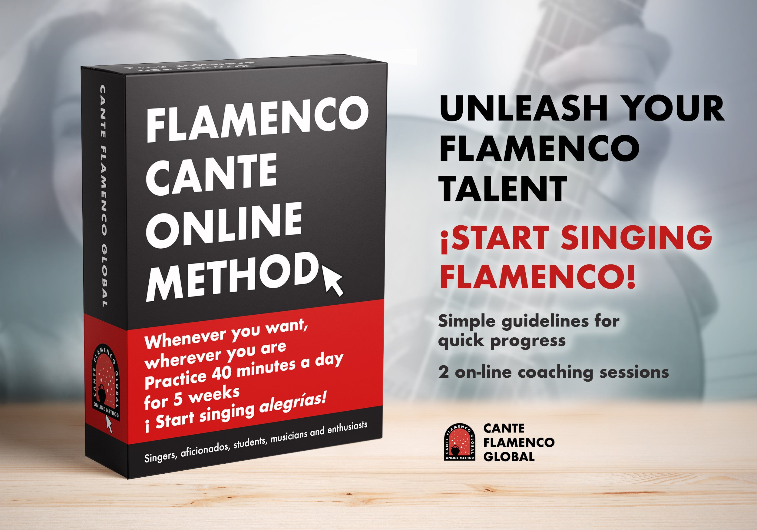 FLAMENCO SINGING ONLINE COURSES - Cante Flamenco Global