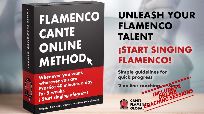 Cante Flamenco Global Method. Por alegrías. (Includes 2 coaching sessions).