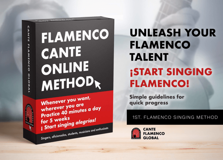 Cante Flamenco Global Method. Alegrias. Do it yourself!