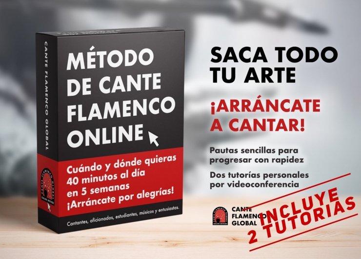 Método de Cante Flamenco Global. Por alegrías. (Incluye 2 tutorías).