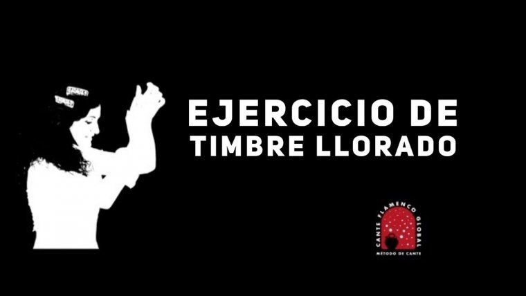 16. Ejercicio de timbre llorado. Método de Cante Flamenco Global.