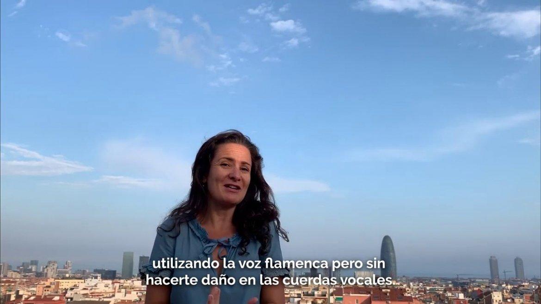 Curso de Cante Flamenco en Barcelona. Septiembre'19 / Junio'20