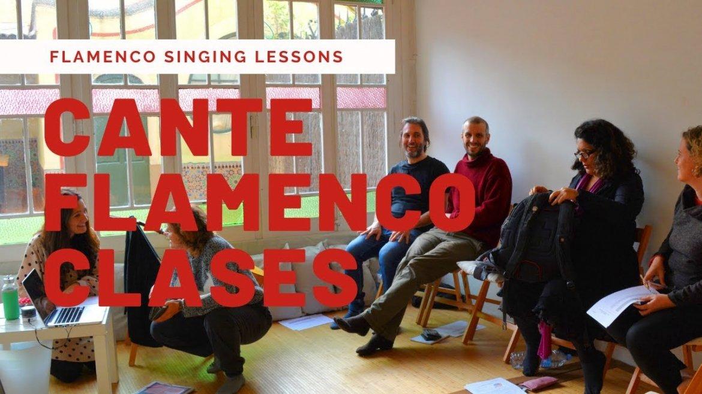 Clases de cante flamenco. Flamenco Singing Lessons.
