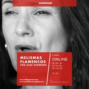 Melismas flamencos con Alba Guerrero. Curso Online.