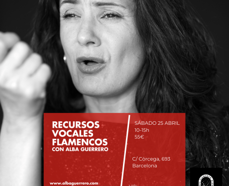 Recursos vocales Alba Guerrero